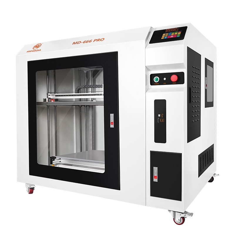 MD-666 PRO High Precision Large Volume 600*600*600mm MINGDA 3D Printing Machine for PLA Filament
