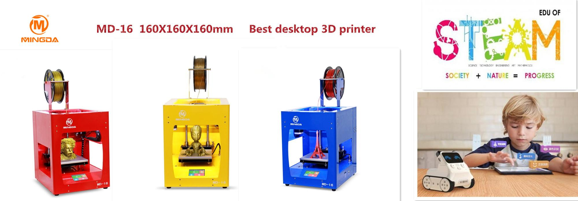 Stability Speed Vitural Image Fdm desktop 3d printer For Education