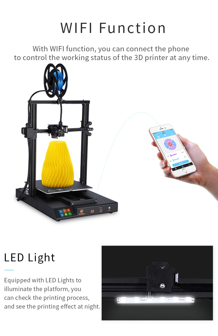 MINGDA D3 320*310*300mm 3d printer(图2)