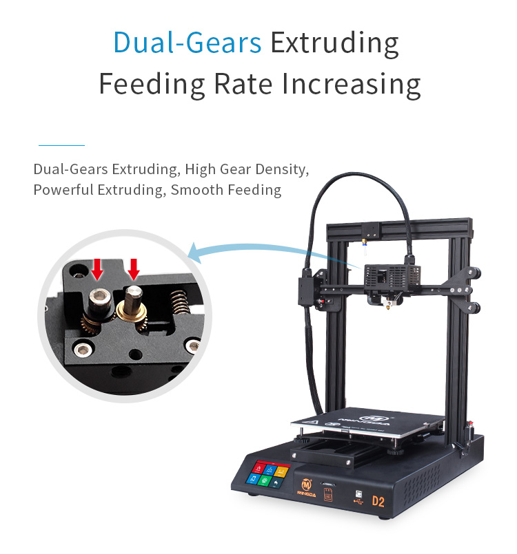MINGDA D2 230*230*260mm DIY 3d printer (图10)