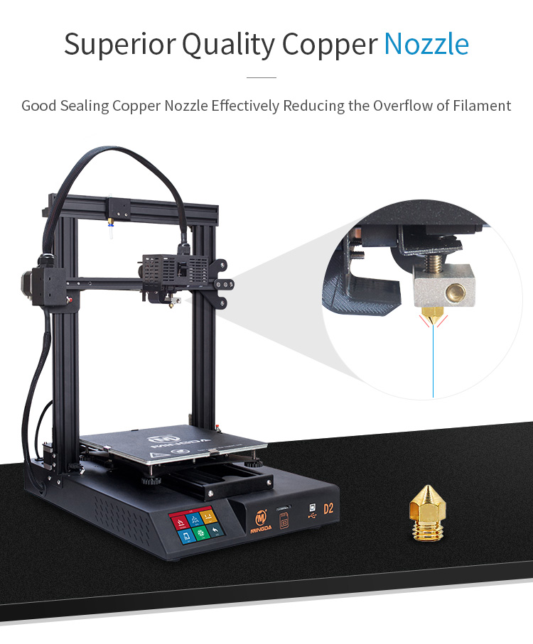 MINGDA D2 230*230*260mm DIY 3d printer (图9)