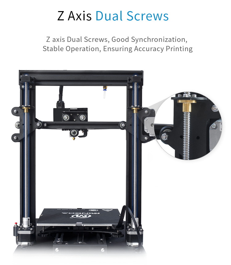 MINGDA D2 230*230*260mm DIY 3d printer (图11)