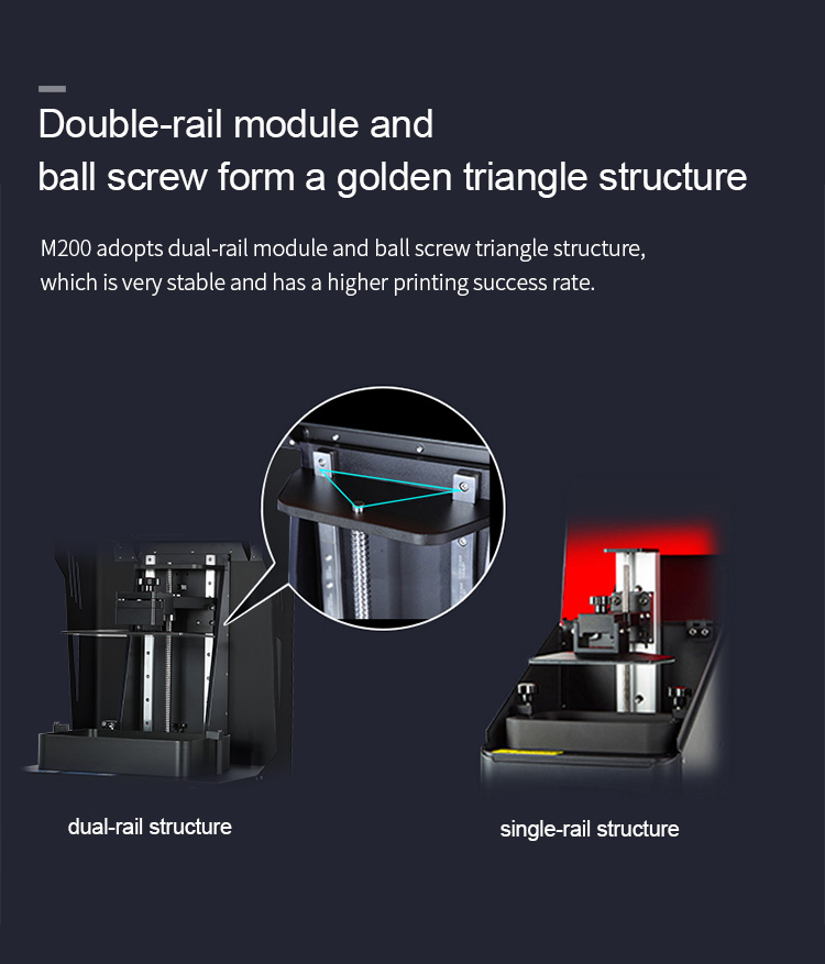 Hot Sell Desktop LCD 3d Printers for jewellery and dental(图3)