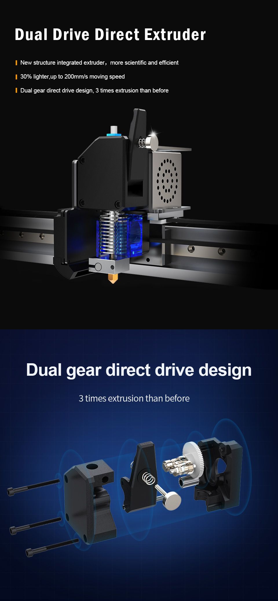 MD-1000 Pr Large Scale Printing Size 1m*1m*1m MINGDA 3D Printer for Plastic Models with PLA Filament(图3)